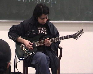 Faraz Anwar's Workshop at Lums